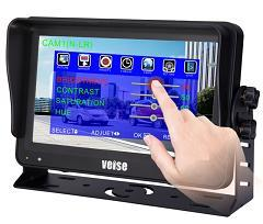 Reversing Camera Tft Lcd Rear View Mirror Monitor 65292 Touch Screen System