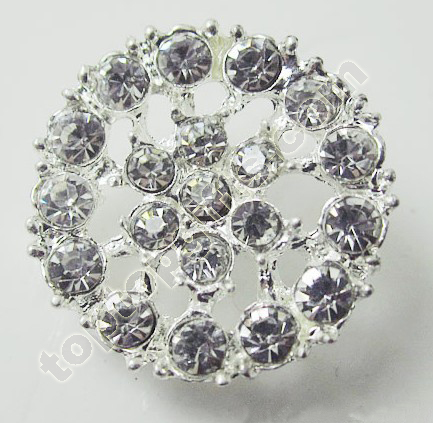 Rhinestone Button For Paris Fashion Show