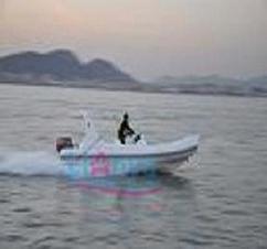 Rib Boat5 8m Fiberglass Boat Yacht Tender