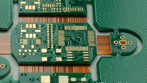 Rigid Flex Pcb Up To 8 Layer Monthly Exportation Us Market At Big Volume