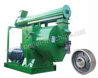 Ring Die Wood Pellet Mill