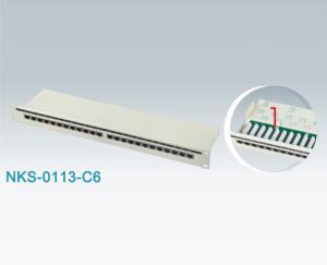 Rj45 Cat6 Ftp Patch Panel Nks 0113 C6