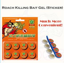 Roach Killing Bait Gel Sticker