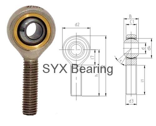 Rod End Bearing Sa10t K