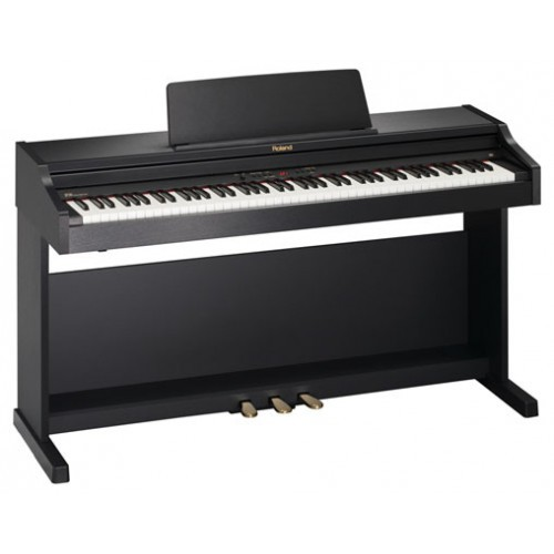 Roland Rp301 Digital Home Piano With Stand Satin Black