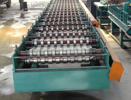 Rolling Shutter Door Roll Forming Machine Brief Description