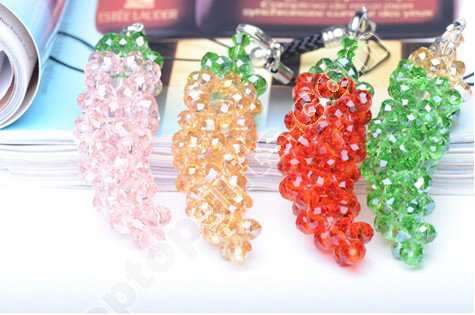 Rondell Crystal Beaded Pepper Charms