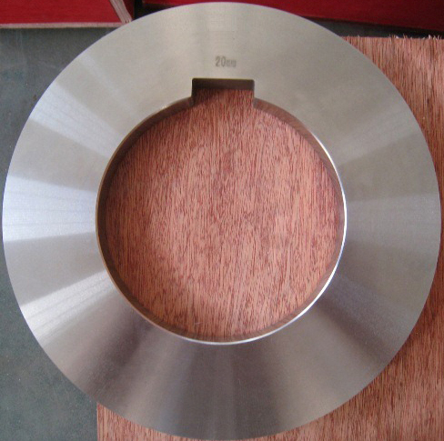 Rotary Shear Blade Metal Spacer Rubber Ring Coil Processing Knives Tooling