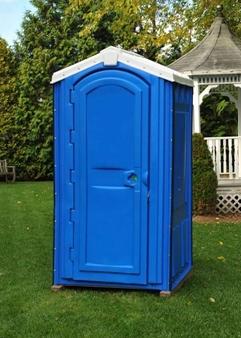 Rotational Molded Blue Portable Toilet