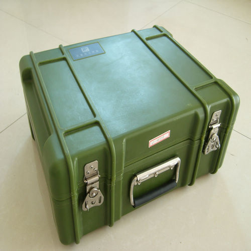 Rotomold Tool Box With Handle And Lips