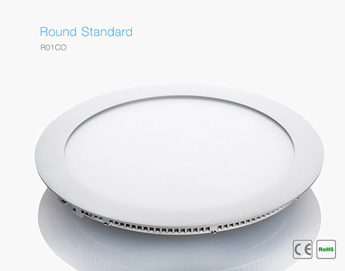 Round Standard Led Panel R01co 50000 Hours Average Operating Life