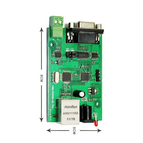 Rs232 Rs485 Serial To Ethernet Tcp Ip Module