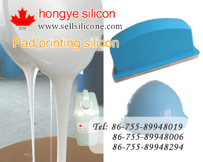 Rtv Silicon Rubber For Pad Printing