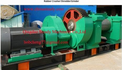 Rubber Crusher Mill Shredder Grinder