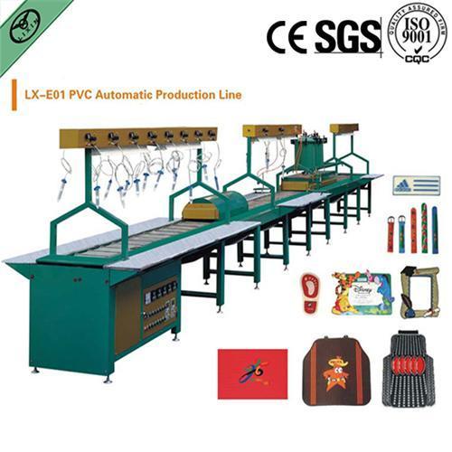 Rubber Label Machinery Pvc Production Line