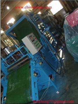 Rubber Sheet Cooling Machine Suspension Batch Off Plant