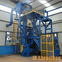 Rubber Steel Belt Tumblast Machines