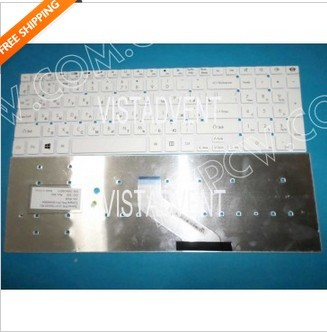Russian Ru Keyboard Gateway Nv55 Nv57h Nv75s Nv77h Nv75h White Win8 V121702