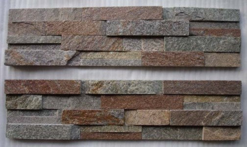 Rusty Quartz Stone Panel Zfw058b