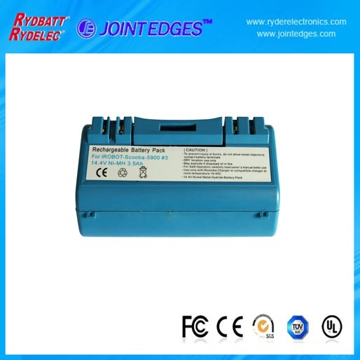 Rybatt Roomba 5900 14 4v 3500mah Ni Mh Battery Pack