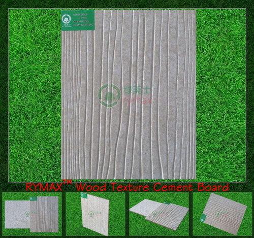 Rymax Wood Texture Cement Board Wall Panel Fiber Fcb