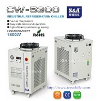 S A Water Cooling System For 80w 130w 150w Co2 Laser
