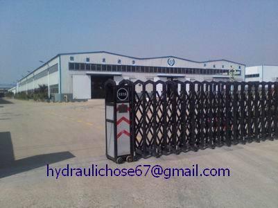 Sae 100r16 R17 R19 High Pressure Steel Wire Braided Reinforced Hydraulic Ho