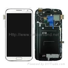 Samsung Galaxy Note2 Note 2 N7100 Lcd Screen With Digitizer Assembly Replac