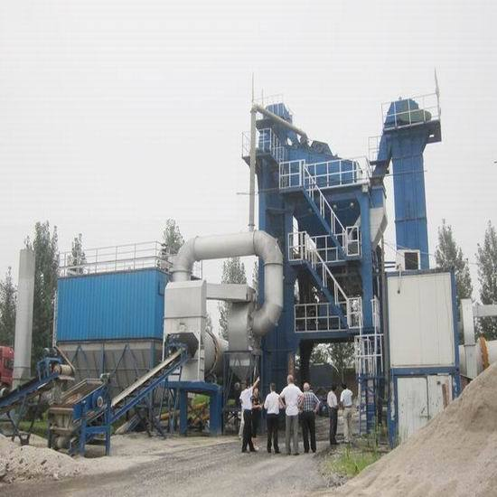 Sap100 Asphalt Batch Mix Plant Sinosun Covering Shaped