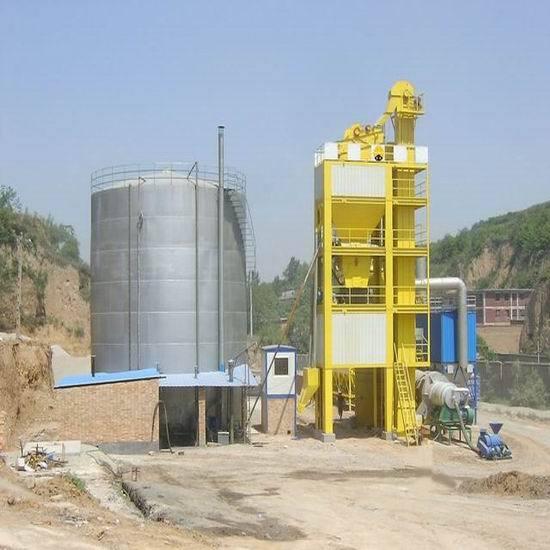 Sap80 Asphalt Batch Mix Plant Final Colorful Investment