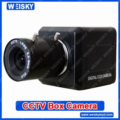 Sc 66 Min Cctv Box Camera 1 4 Sharp Ccd 3 5 8mm Manual Zoom