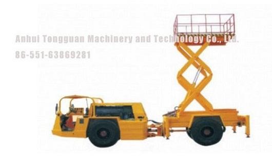 Scissor Type Hydraulic Lifting Platform