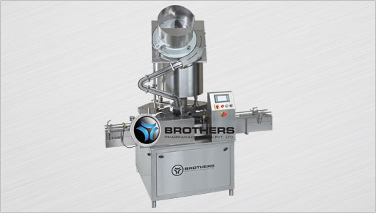 Screw Capping Machine From Brothers Pharmamach