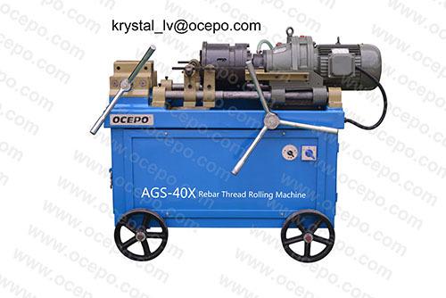 Screwthread Rolling Machine Threaded Ags 40x