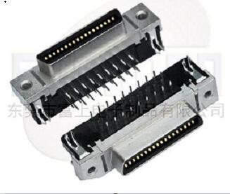 Scsi 36pin Connector Ringht Angle Female
