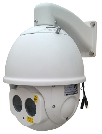 Sd Laser Speed Dome Camera With Detection Distance 300m In Total Darkness