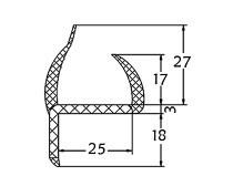 Seal Gaskets Door Pvc Profile Seals 011025ar