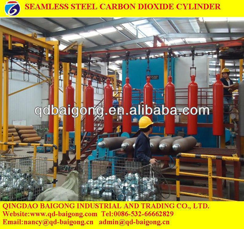 Seamless Steel Empty Co2 Cylinder