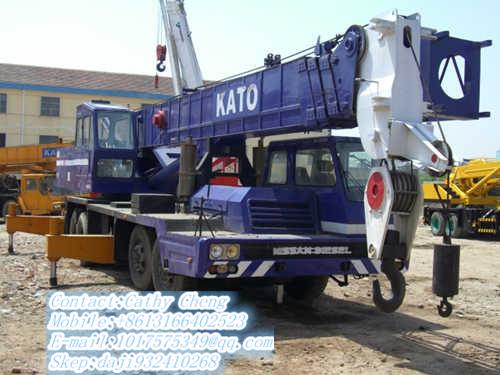 Second Hand Kato Nk500e V Crane