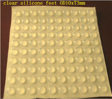 Self Adhesive Rubber Feet Bumpers