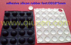 Self Adhesive Rubber Feet Square Clear Small Bumpers