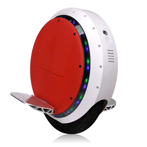 Self Balancing Electric Unicycle Solo Wheel Scooter With Bluetooth Speaker