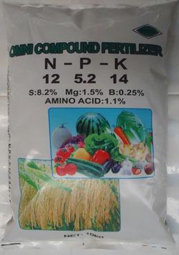 Sell N P K Compound Fertilizer Complex Npk Mixed Engrais Organic Amino Acid