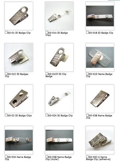 Sell Name Badge Clip Shuen Fuh