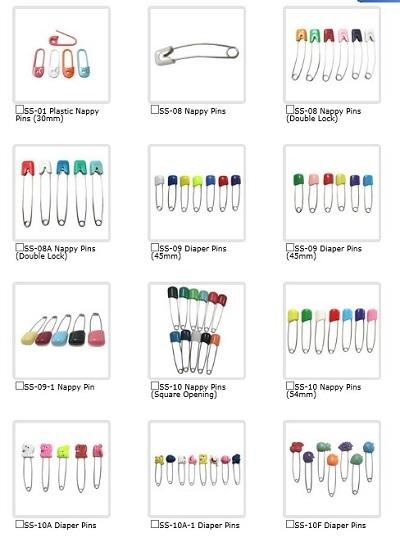 Sell Nappy Pins Shuen Fuh