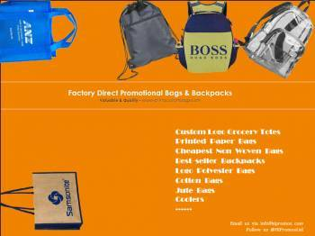 Sell Promotional Bags And Backpacks