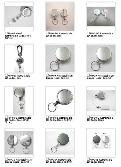 Sell Retractable Id Badge Reels Shuen Fuh