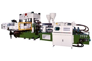 Sell Two Colour Rotary Type Rain Boots Automatic Injection Moulding Machine