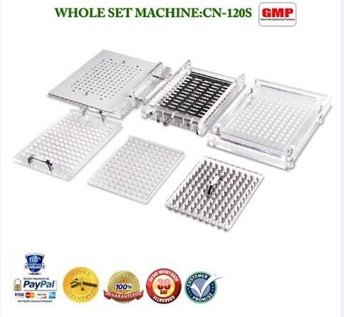 Semi Auto Capsule Filler Machine Cn 120scl