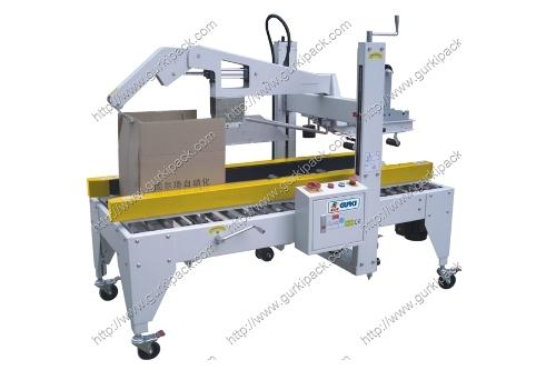 Semi Automatic Flaps Folding Carton Sealer